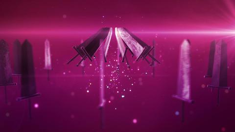 SHA Sword BG Pink Animation