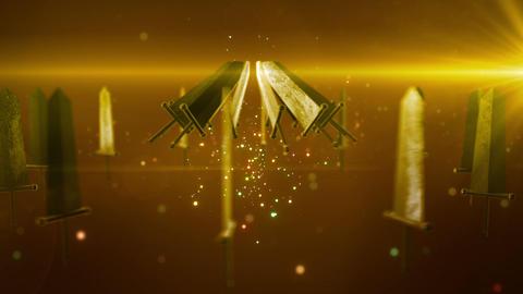 SHA Sword BG Yellow Animation