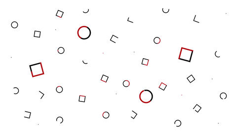 Abstract pattern ring square Animation