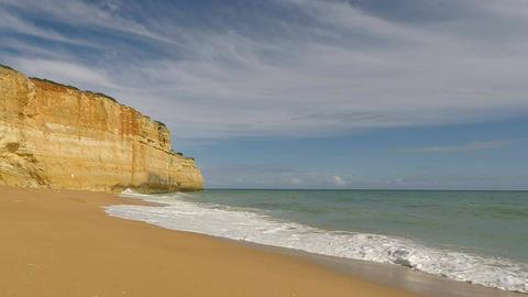 portugals algarve coast Footage