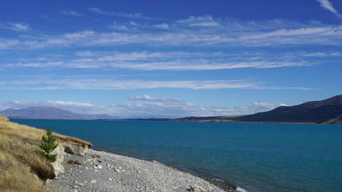 Pukaki lake Footage