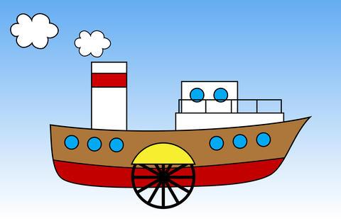 Steamship Photo