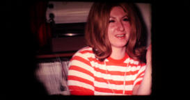 1969 - An end-of-year party Men and women who have fun Tales drink and smoke 01 Footage