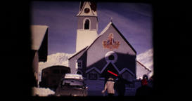 February 1969 - The Obergurgl resort and the Alpenrose hotel in the Zürs resort Footage