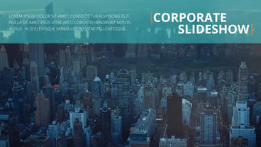 Corporate Slideshow After Effects Project