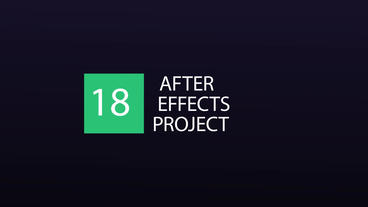 18 Titles After Effects Projekt
