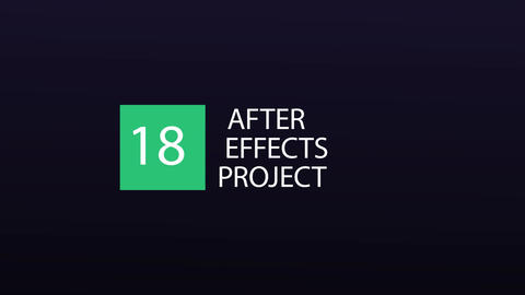 18 Titles After Effects Template