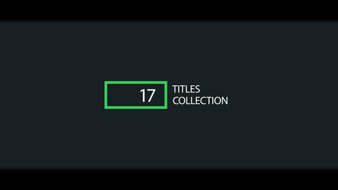 Minimal and Corporate Titles After Effects Template