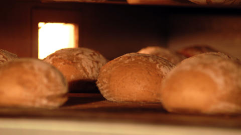 10722 german bakery bake bread time lapse short Stock Video Footage