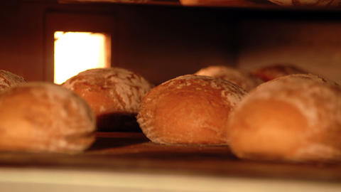 10722 german bakery bake bread time lapse short Stock Video Footage
