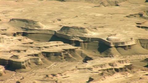 view form Masada: Judean desert Stock Video Footage