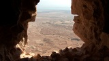 view from Masada t Footage