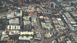 Aerial, West Hollywood, California Footage