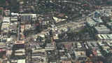 Aerial, West Hollywood, California stock footage