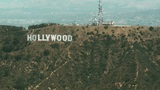 Aerial, Hollywood Sign 01 Footage