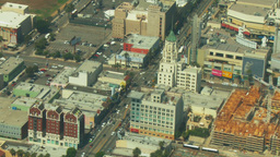 Aerial, Hollywood, California 02 Stock Video Footage