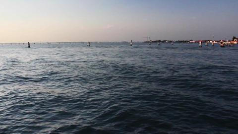 VENICE Lagoon 10 Stock Video Footage