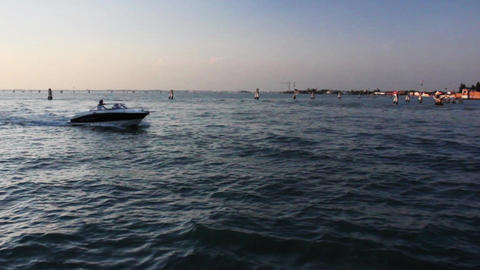 VENICE Lagoon 10 Stock Video Footage