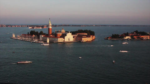 VENICE Lagoon 12 Stock Video Footage