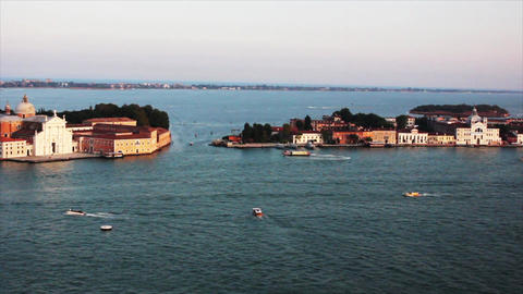 VENICE Lagoon 15 Stock Video Footage