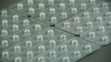 Pharmaceutical Capsules stock footage