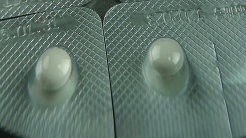 Pharmaceutical capsules Stock Video Footage