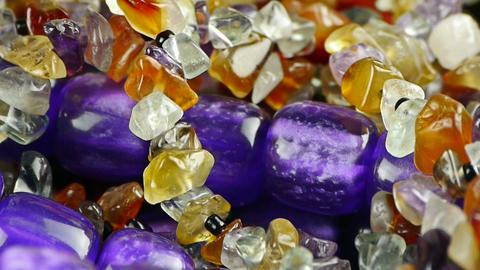 gorgeous gemstones jewelry Footage