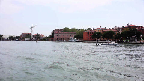 VENICE Lagoon 18 Stock Video Footage
