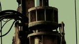 Drilling Machinery,Construction Of City Buildings,sense Of History stock footage