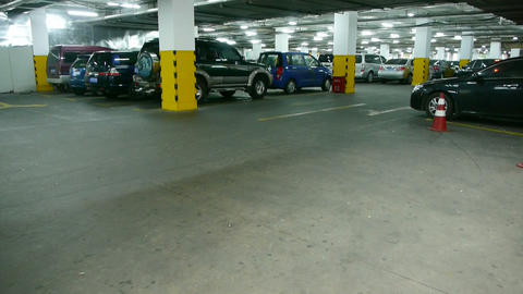 underground parking Stock Video Footage