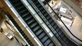 Escalator in Shopping mall Footage