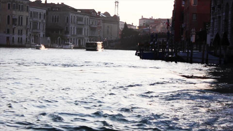 VENICE Canal Grande 1 Stock Video Footage