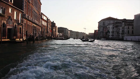 VENICE Canal Grande 3 Stock Video Footage