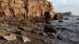 sea rock Footage