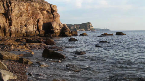 sea rock Stock Video Footage