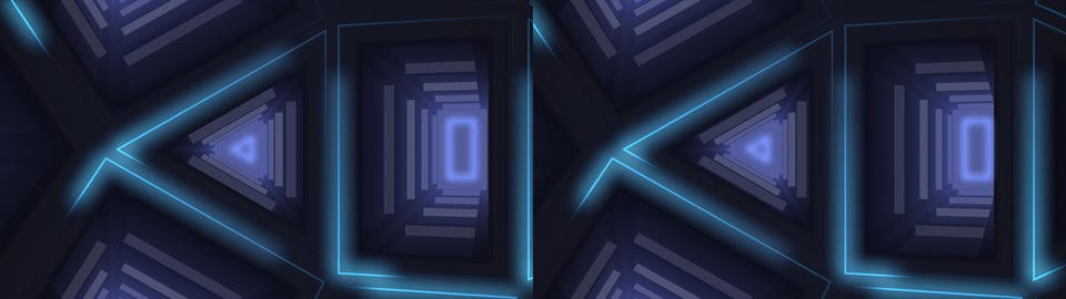 Digital Interior 3D Stock Video Footage