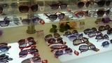 sunglasses at the mall Footage