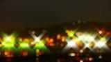 Shaking star lighting at night Footage