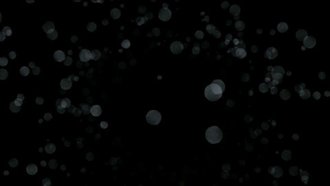 explosion snowflakes & falling particles from sky Stock Video Footage