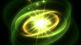 rotate tech energy field launch rays laser in darkness Animation