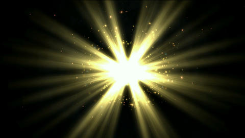 rays laser & rotate particles in darkness space,power... Stock Video Footage