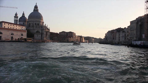 VENICE Canal Grande 6 Stock Video Footage