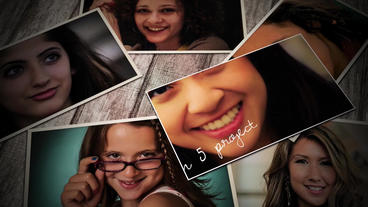 Memories: Photo Gallery Apple Motion Template