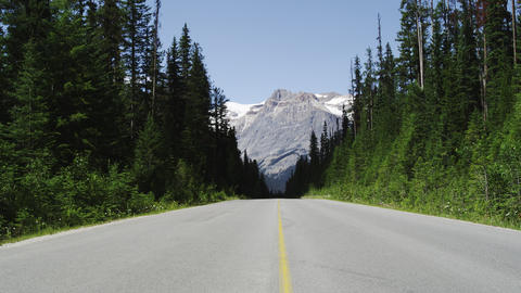 Beautiful Canadian Rocky Mountains In 4K stock footage