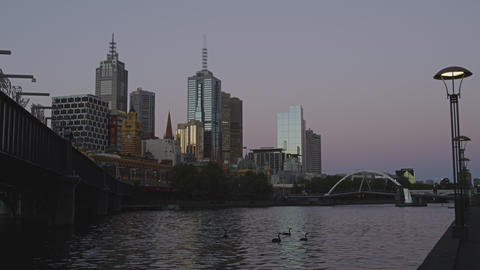 Melbourne in UHD 4k Footage