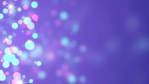 bokeh circles loopable abstract background 4k (4096x2304) Animation