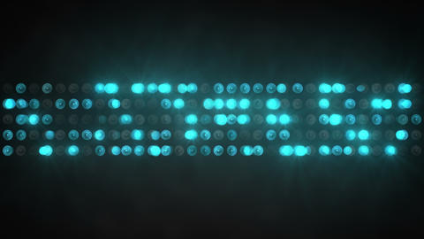 blue light show panel abstract background 4k (4096x2304) Animation