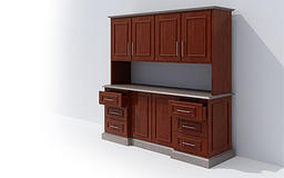 Kitchen furniture 3D