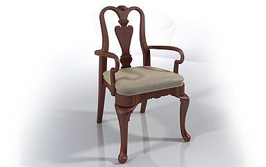 Dinning Chair 3d model 3D Model