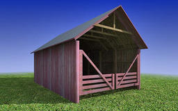 Old Poly Hay buy MAX 3D Modell